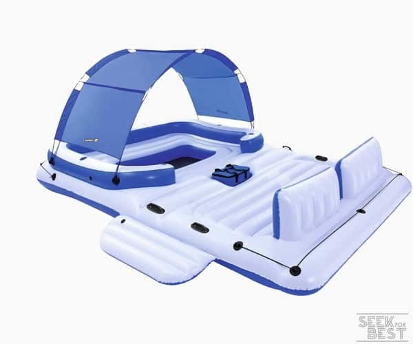 1. Bestway CoolerZ Inflatable Floating Island Review