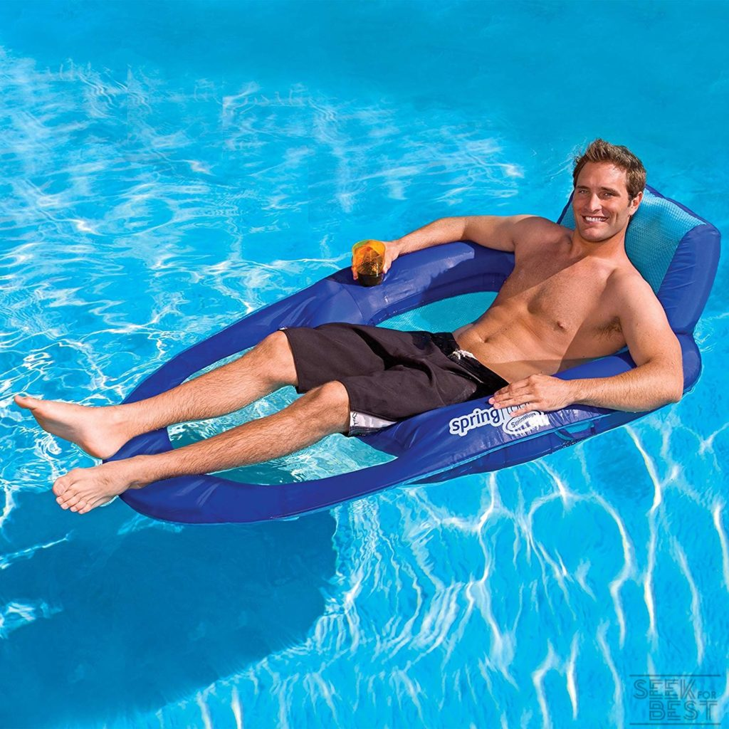 8. Swimways SpringFloat Recliner Review