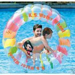 12. Giant Inflatable Swimming Pool Water Wheel Toy