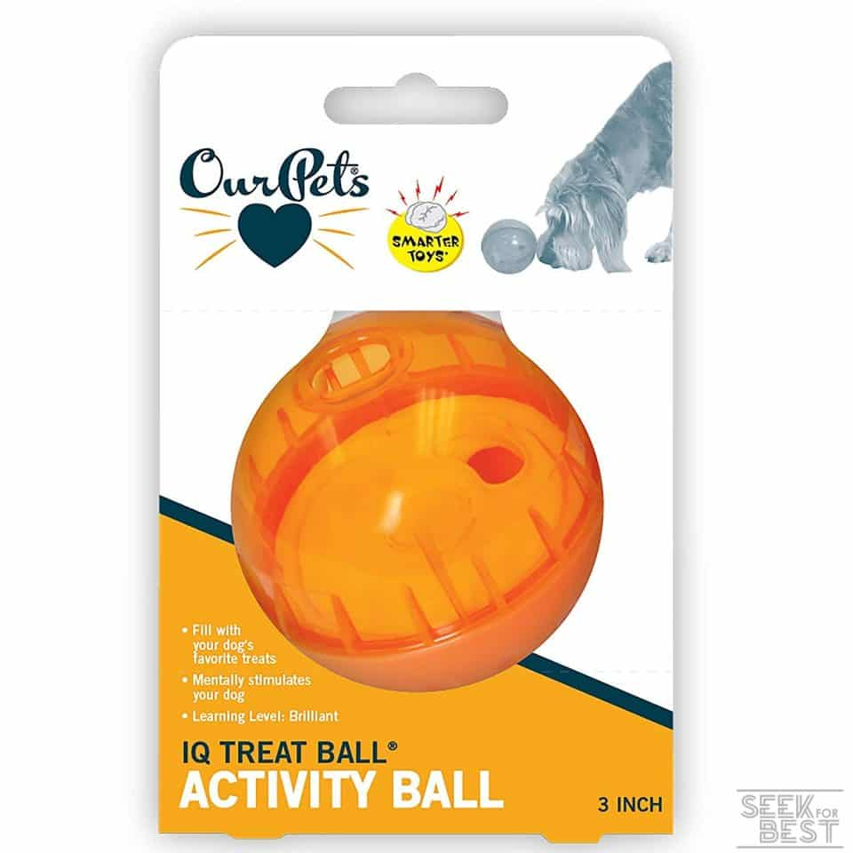 1. Our Pets IQ Treat Ball Review