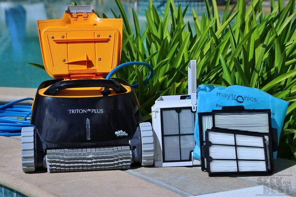 11. Dolphin Triton Plus - Great Robotic Pool Cleaner