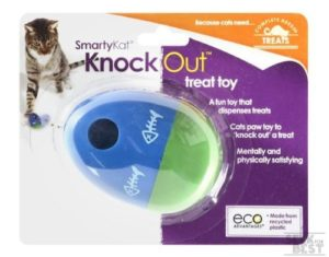 12. SmartyKat Treat Dispensing Toy