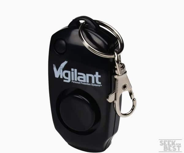 3. Vigilant 130dB Personal Alarm w/ a Backup Whistle Review