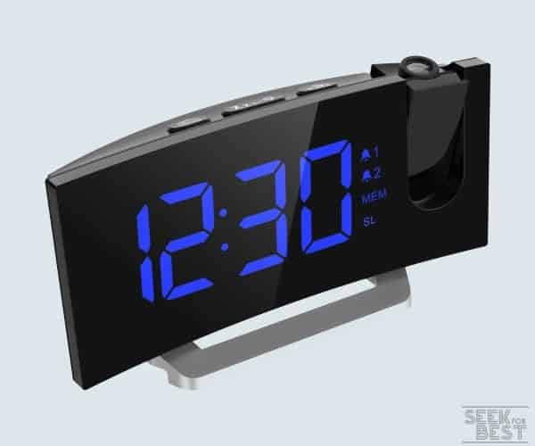 Mpow Projection Alarm Clock Review