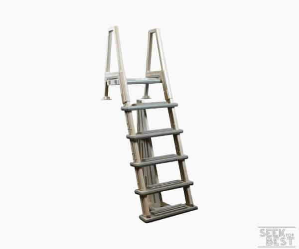 3. Confer Plastics Deluxe Above Ground Pool Ladder