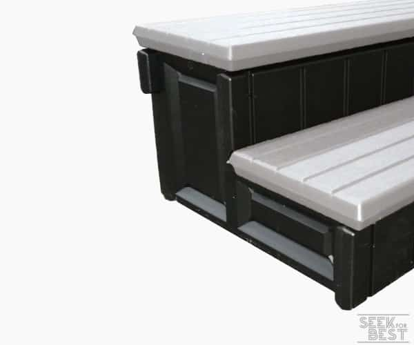 3. Leisure Accents Deluxe Hot Tub Step
