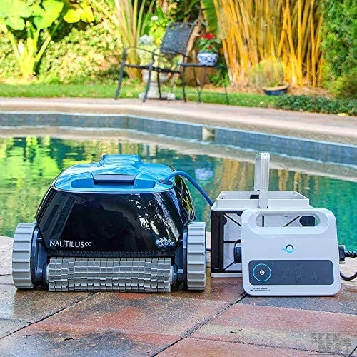 3. Dolphin Nautilus CC - Best Robotic Pool Cleaner For Small Pools