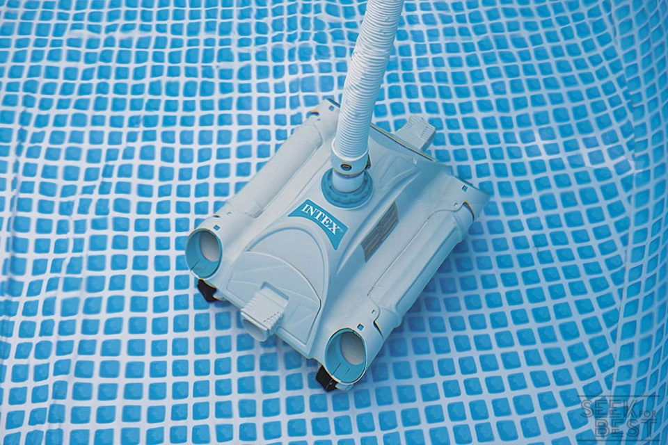 4. Intex Auto - Best Cheap Robotic Swimming Pool Cleaner