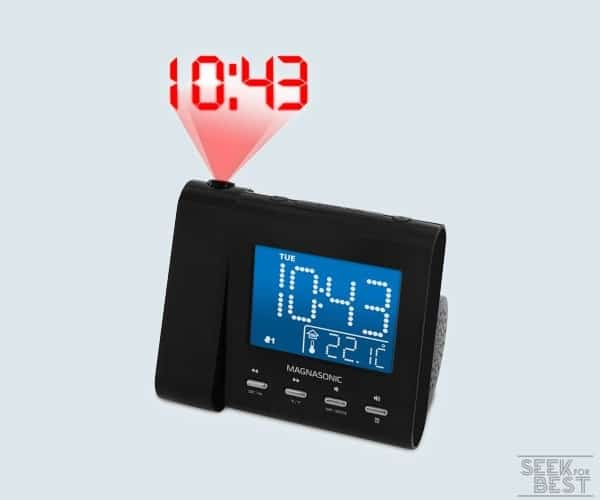 Electrohome EAAC601 Projection Alarm Clock
