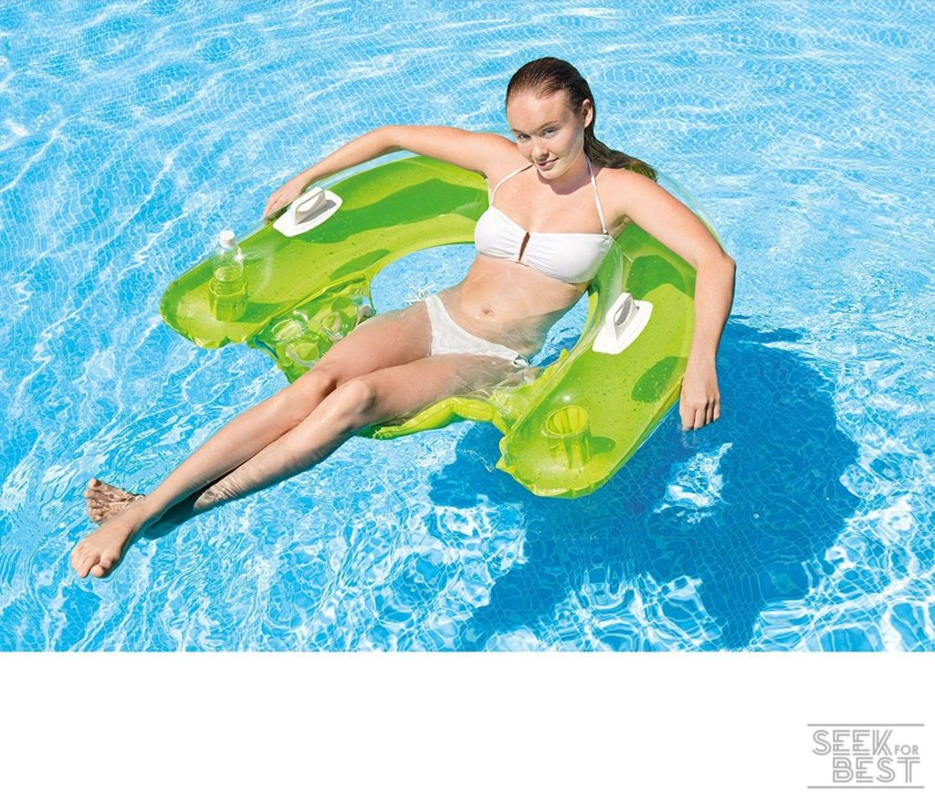 4. Intex Sit 'N Float Inflatable Lounge Review