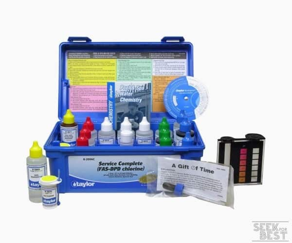 5. Taylor Service Complete Pool Water Test Kit (K-2006C)