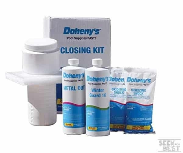Doheny's Swimming Pool Winterizing Chemical Kit