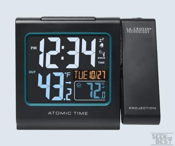 La Crosse Technology 616146 Color Projection Alarm Clock