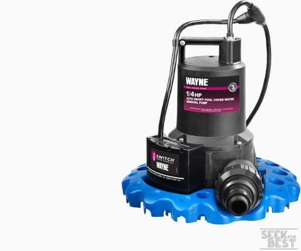 6. Wayne Automatic Water Removal Pool Cover Pump