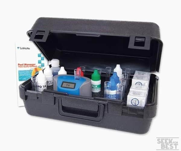 6. LaMotte ColorQ Pro 11 Pool Water Testing Kit