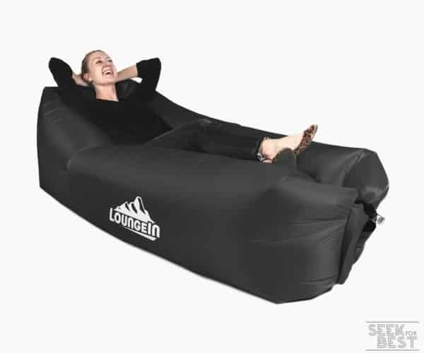 6. LoungeIN Inflatable Lounger