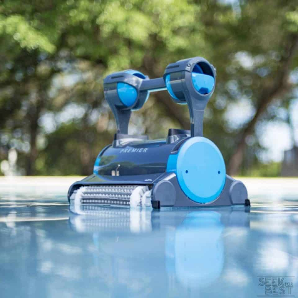 8. Dolphin Premier - Best Overall Robotic Pool Cleaner you can buy