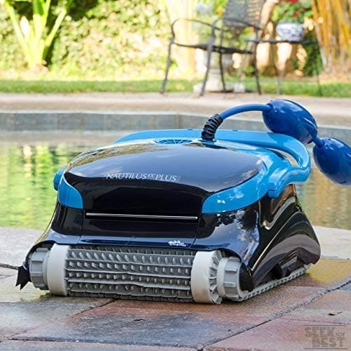 1. Dolphin Nautilus Robotic Pool Cleaner