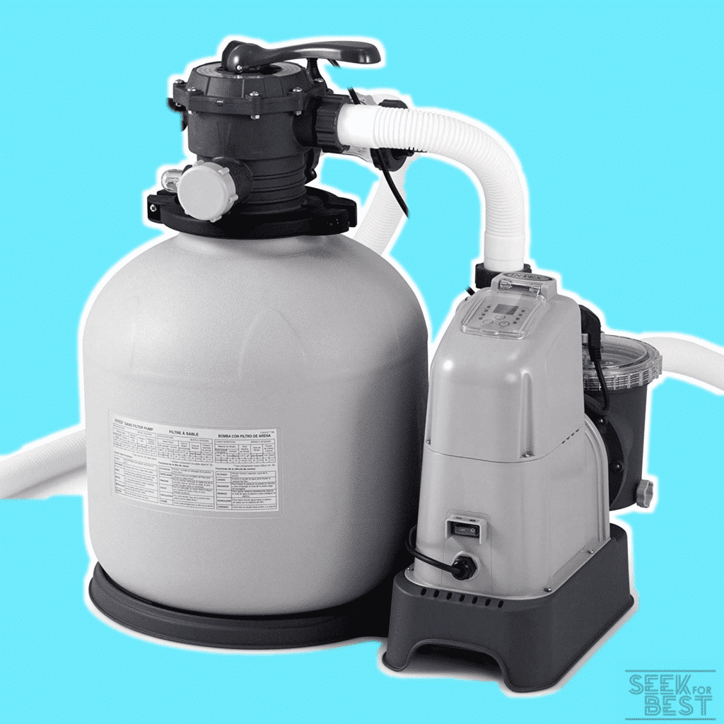 Intex Krystal Clear - Best Sand Filter Pump and Saltwater System with E.C.O