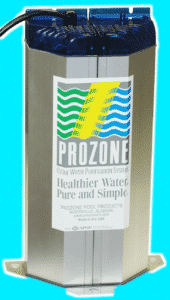 Prozone Water Products Ozone System Generator