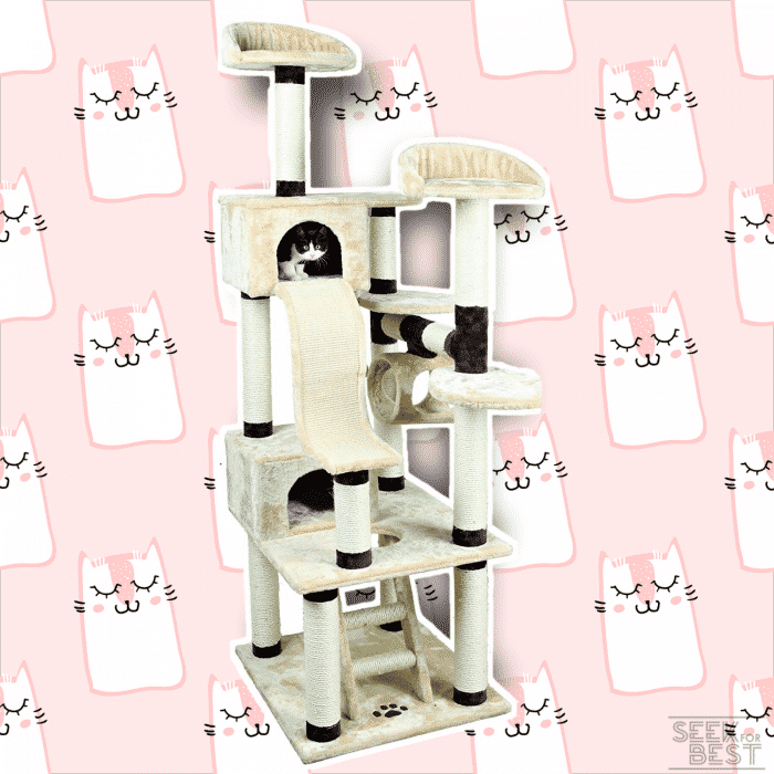 Trixie Cat Tree Playhouse