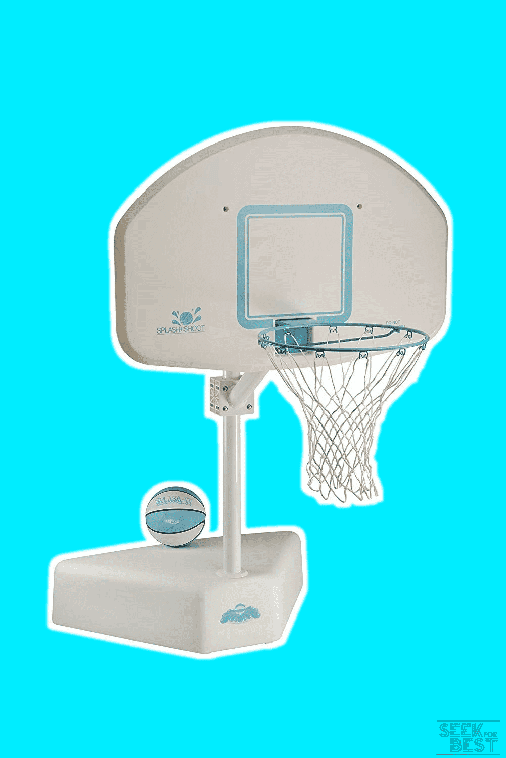 Dunrite Splash & Shoot Swimming Pool Basketball Hoop