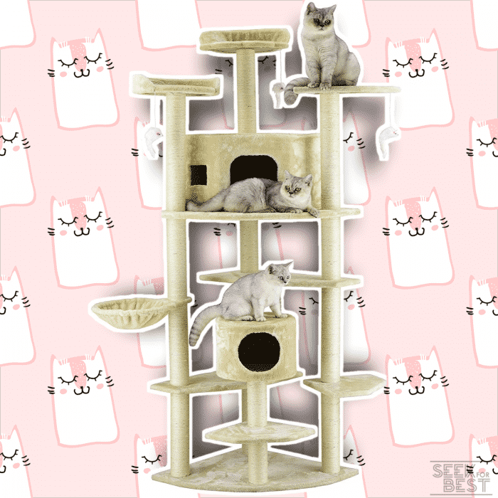Go Pet Club 80-Inch Cat Tree