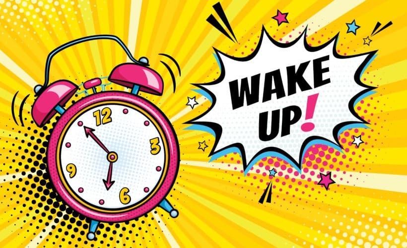 wake up in time
