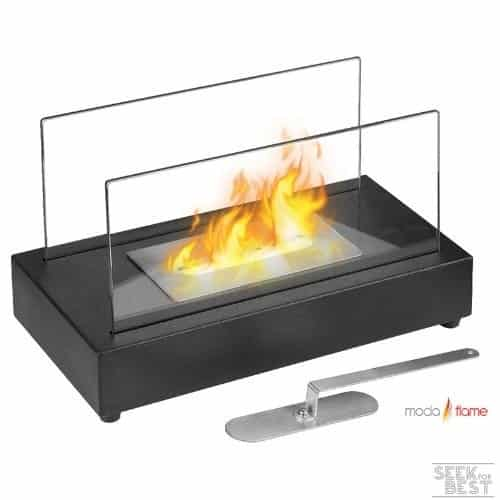 Moda Flame Vigo Ventless Tabletop Bio Ethanol Fireplace