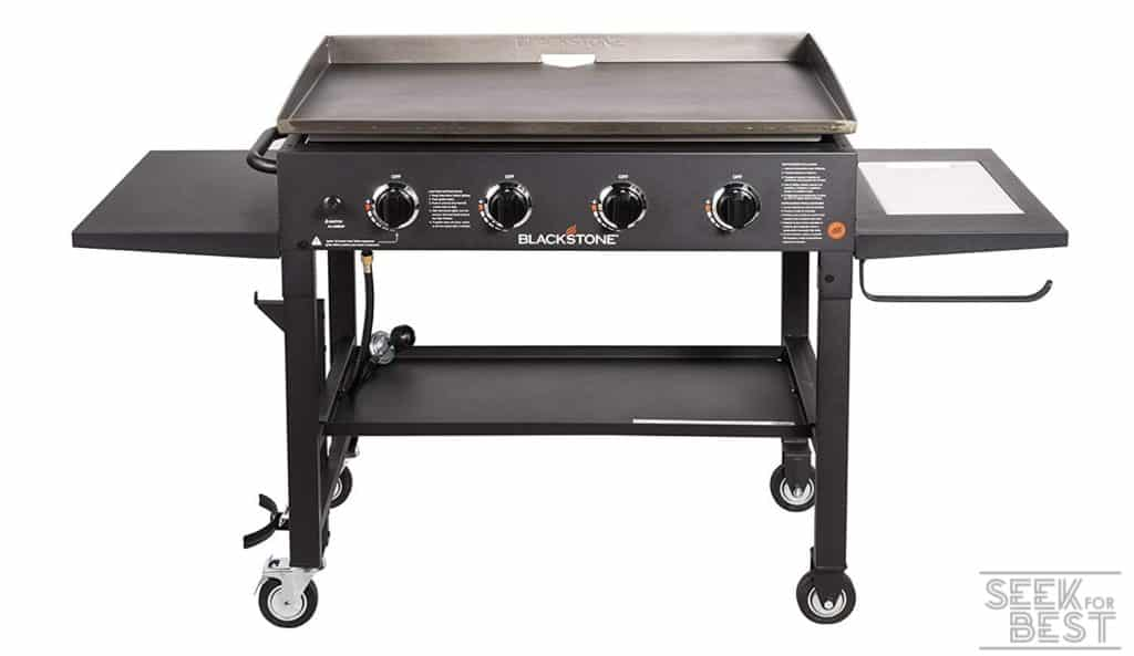Blackstone 4-Burner Flat Top Gas Grill Griddle Station