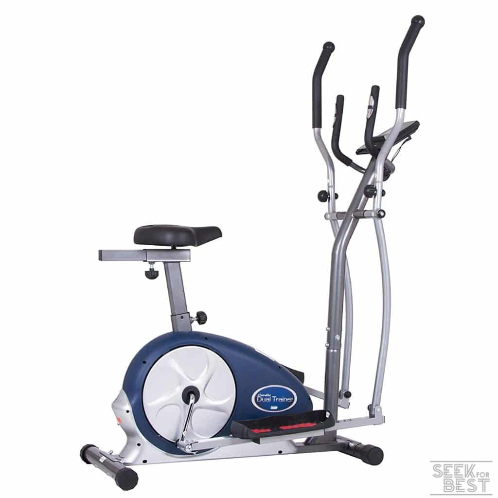 Body Max Champ 2-in-1 Elliptical and Exercise Bike