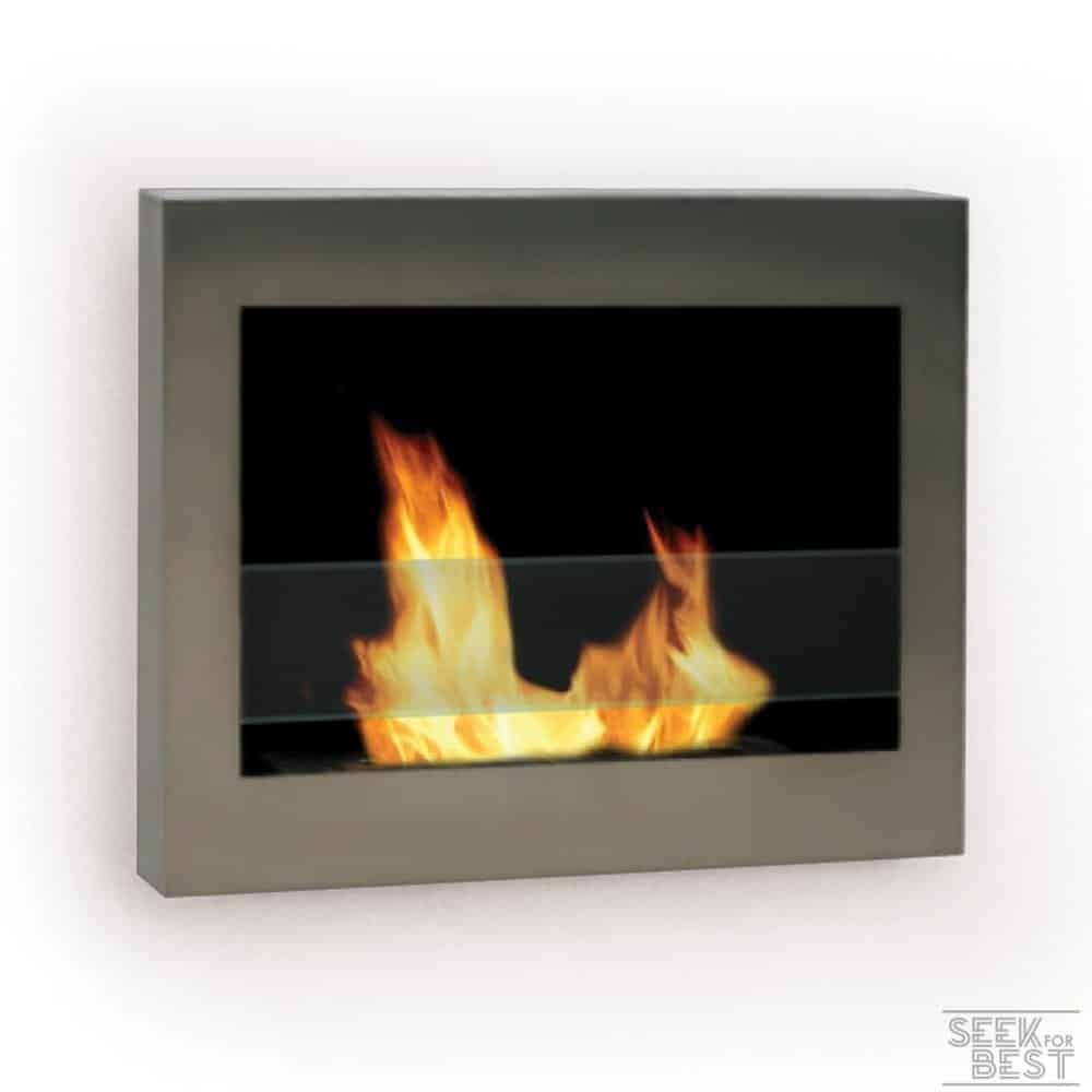 Anywhere Fireplace – SoHo Stainless Steel Fireplace