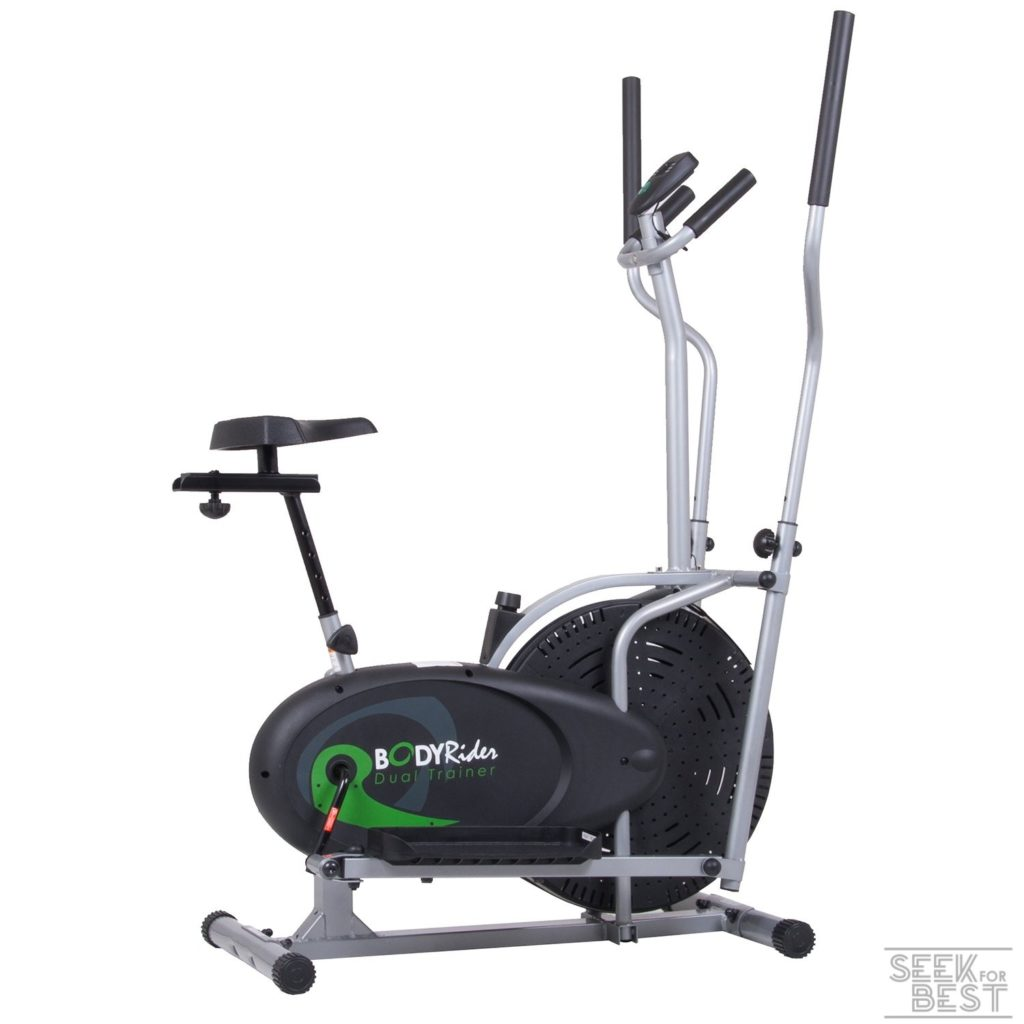 Body Max Body Rider 2-In-1 Elliptical Trainer and Exercise Bike
