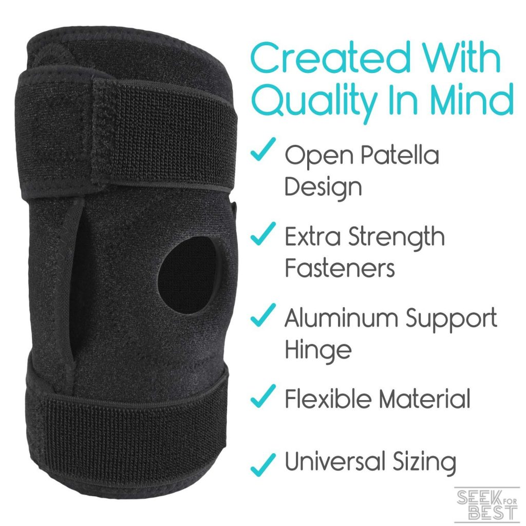 2. Vive Hinged Knee Brace