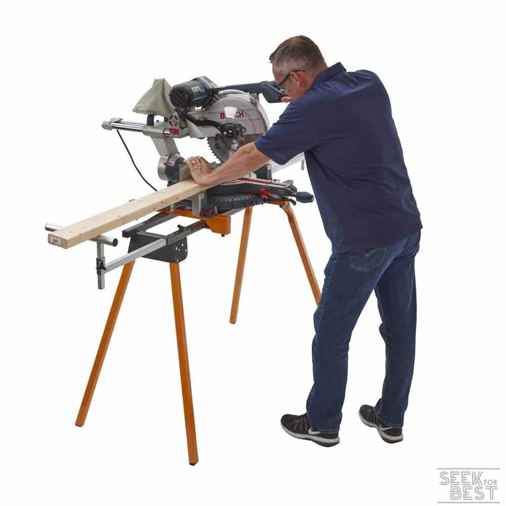 2. BORA Portamate PM-4000 Folding Miter Saw Stand