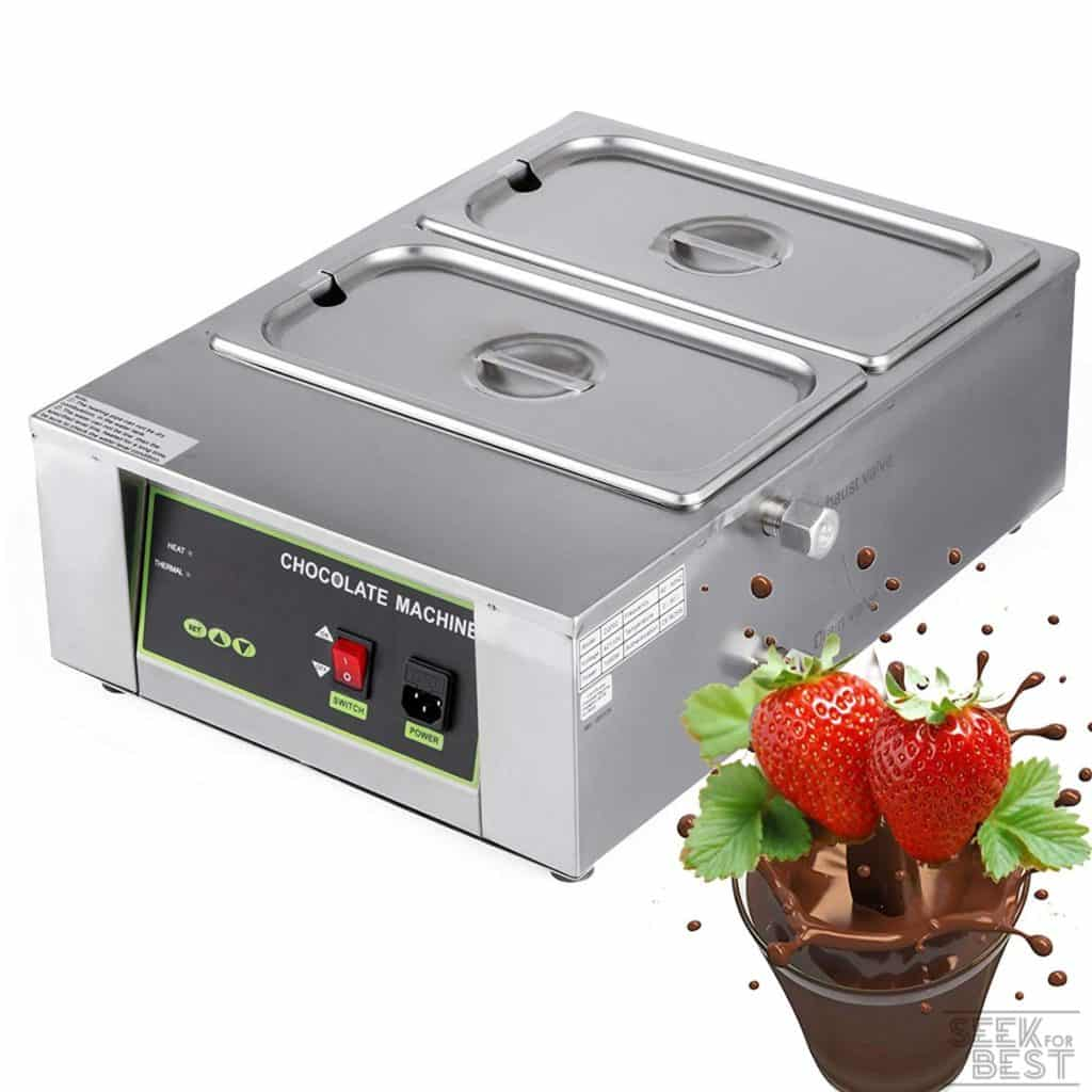 2. Vevor Electric Chocolate Melting Pot Machine