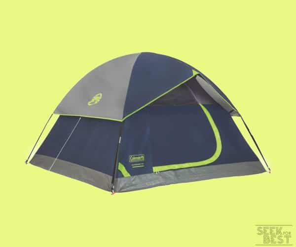 4. Coleman Dome Tent