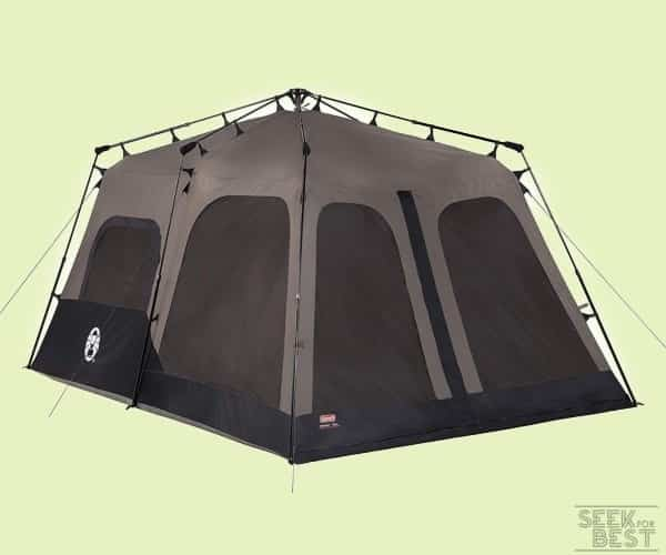 5. Coleman Instant Family Tent