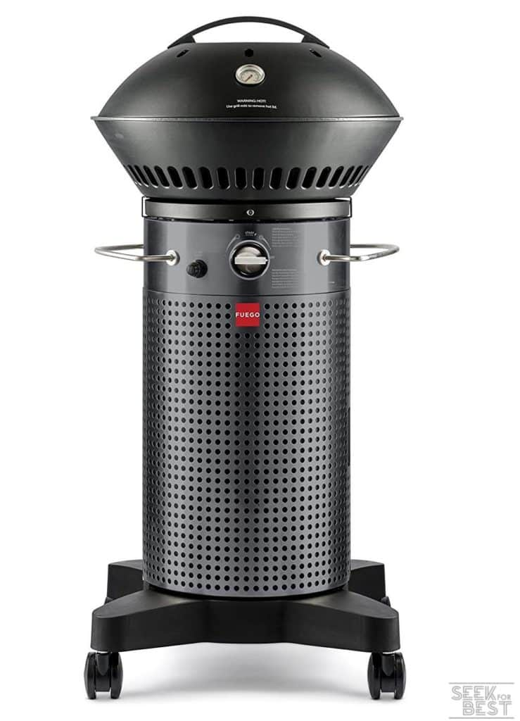 Fuego Element F21C Carbon Steel Gas Grill