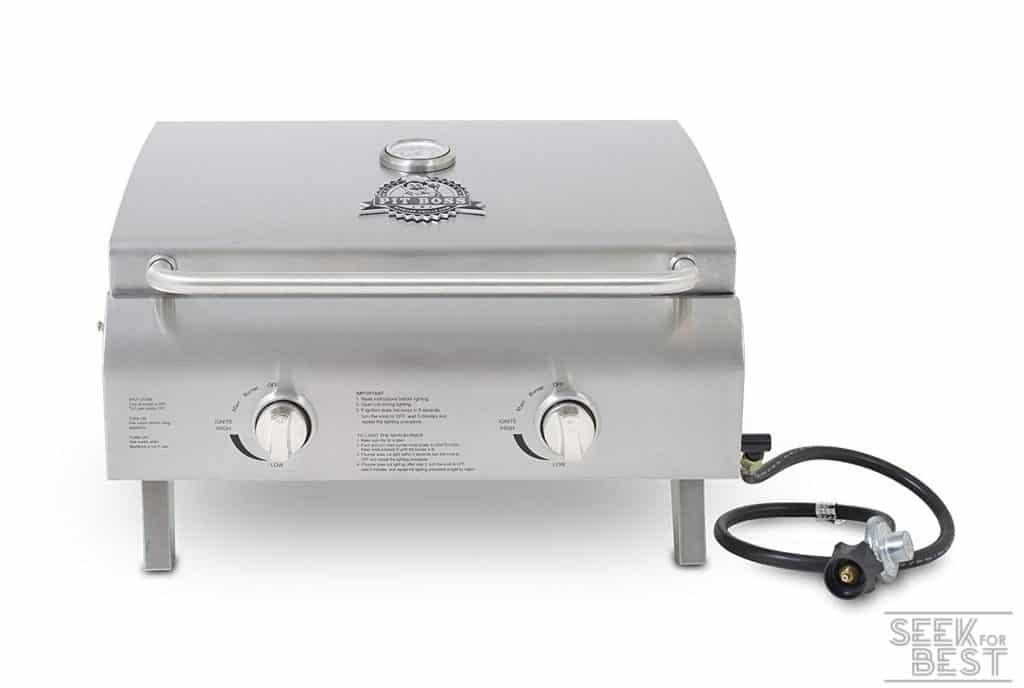 Pit Boss Grills 75275 Two-Burner Portable Grill