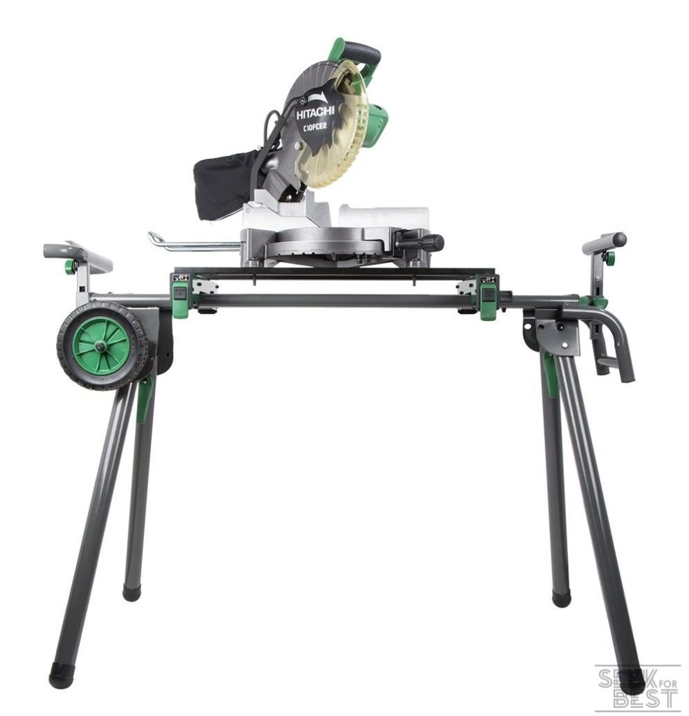 6. Hitachi UU240F Miter Saw Stand
