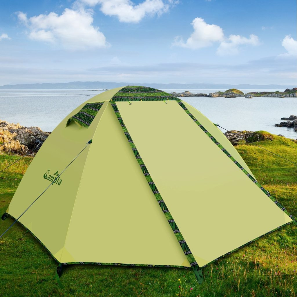 6. Campla Waterproof Camping Tent