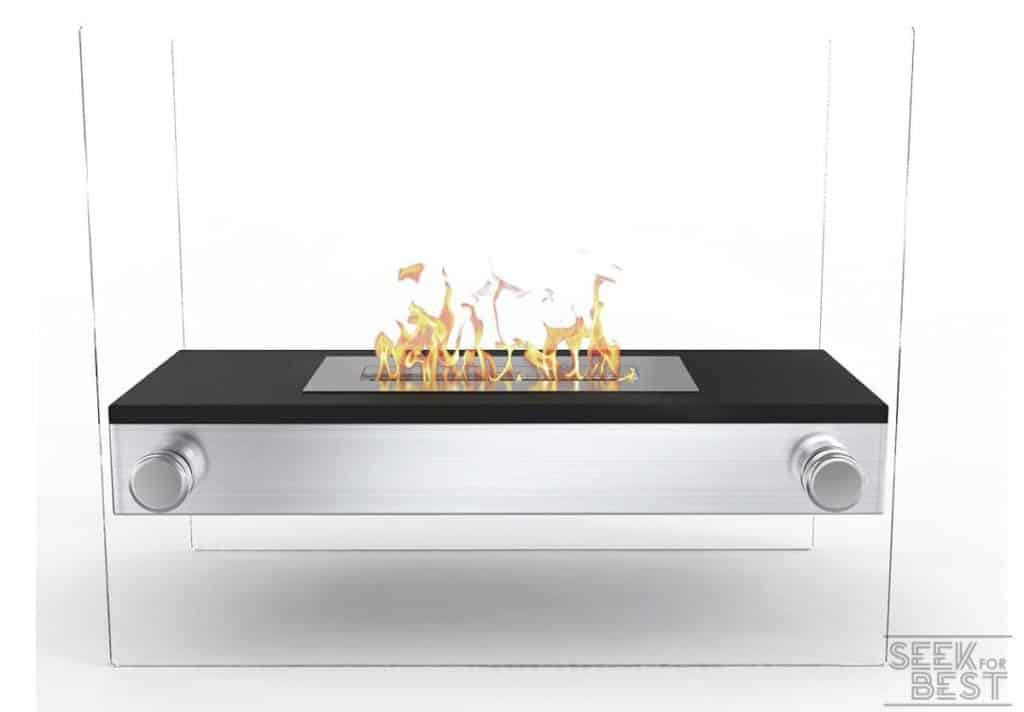 Moda Flame Palermo H Bio Ethanol Tabletop Fireplace