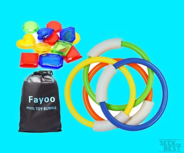 Fayoo 23 Pack Underwater Swimming/Diving Pool Toys
