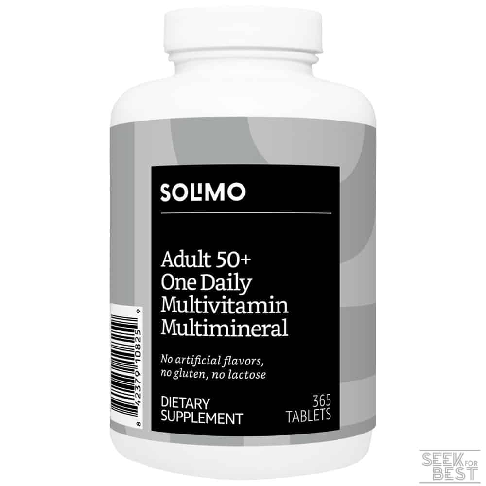 Solimo Adult 50+ Multivitamin