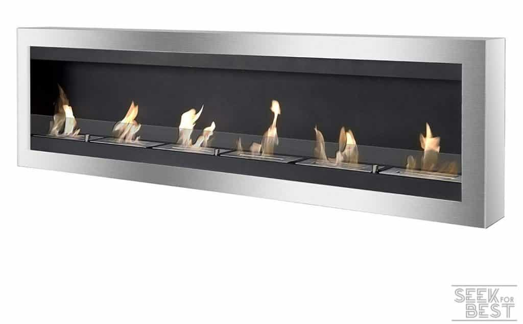 Ignis Maximum Wall-Mount Ethanol Fireplace