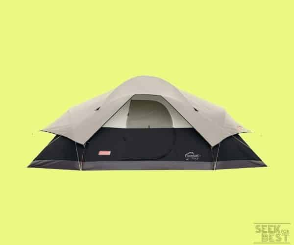 #1 Coleman Red Canyon Car Camping Tent