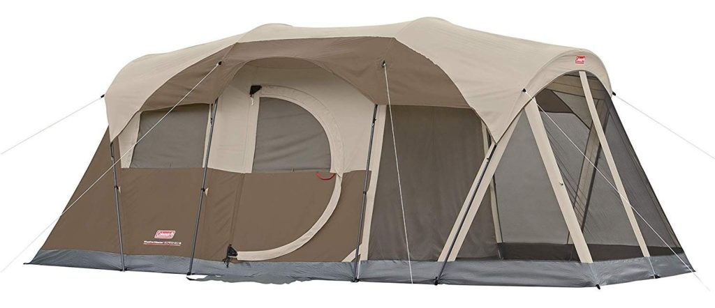 1. Coleman WeatherMaster 6-Person Tent