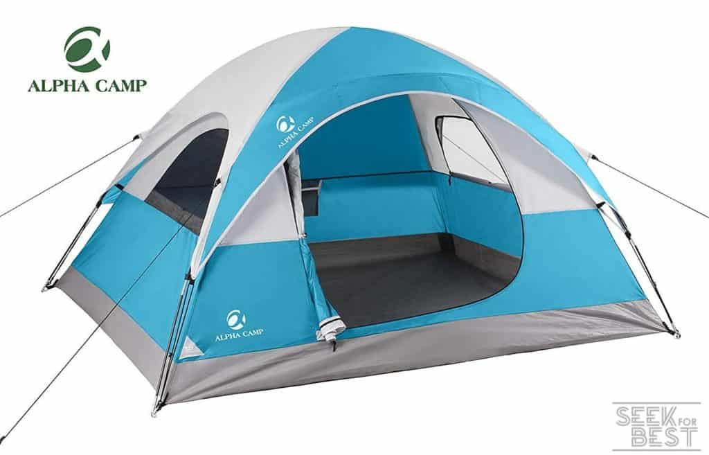 2. ALPHA CAMP 3-4 Person Tent