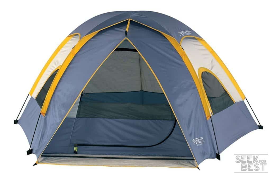 3. Wenzel Alpine 3-Person Pentadome Tent